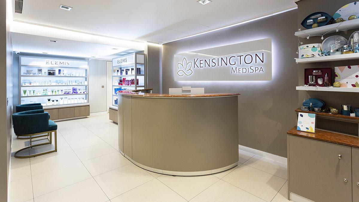 Kensington MediSpa Reception